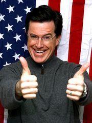 Stephen Colbert tells Russian TV he's mulling a 2020 presidential run