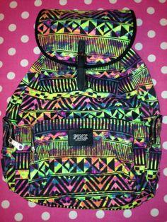 New Victoria's Secret Pink Backpack School Book Gym Travel Bag You Choose | eBay