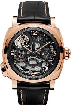 17a4ee566bf PANERAI LIMITED Radiomir 1940 Minute Repeater Carillon Tourbillon GMT  PAM00600