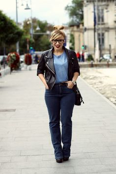 That classic outfit Classic Outfits, Fashion Bloggers, Chic, My Style, Jeans, Board, Collection, Shabby Chic, Classy