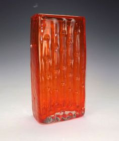 Whitefriars 'Drunken Bricklayer' Vase from a selection at Art of Glass. Description from pinterest.com. I searched for this on bing.com/images