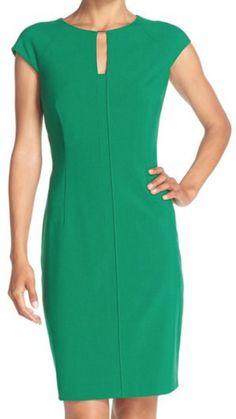 Woven Sheath Dress (Regular & Petite) (Online Only)
