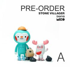 It was only yesterday since we gave you an update for the highly anticipated BAOMOY Stone Villager Series by MIRO. A new day and we woke up to the beautiful news that MIRO has opened pre-orders Character Web, Simple Character, 3d Model Character, Hug Illustration, Ideal Toys, Mascot Design, Vinyl Toys, Visual Development, Designer Toys