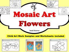 Art Project Mosaic Flowers