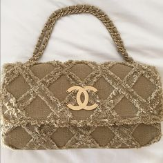 Chanel Chanel authentic shoulder bag. This is a stunning bag. Not sure if I want to sell. Has back pocket. Dimensions are 15 x 8. In perfect condition. Comes with cards and dust bag. Limited edition. Never worn price is firm CHANEL Bags Shoulder Bags