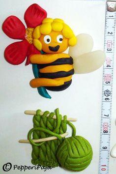 PepperiPaja: Maya the Bee and yarn stuff