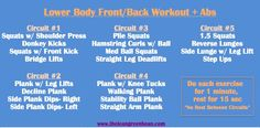 Circuit Cardio Workout