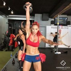 """7,951 Likes, 153 Comments - Hannah Eden (@hannaheden_fitness) on Instagram: """" HAPPY HALLOWEEN We had a WILD workout @pumpfit_club this morning! I love how everyone put so…"""""""