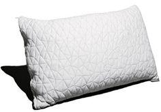 Coop Home Goods - PREMIUM Adjustable Loft - Shredded Hypoallergenic Certipur Memory Foam Pillow with washable removable cooling bamboo derived rayon cover - Standard