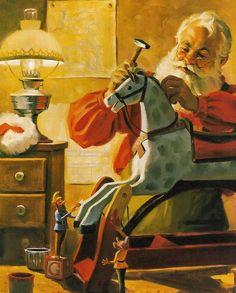 Santa by Tom Browning ....