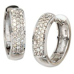 Dreambase Damen-Creole 50 Diamant-Brillanten 14 Karat (585) Weißgold 0.25 ct. von Dreambase, http://www.amazon.de/dp/B0097QWFRO/ref=cm_sw_r_pi_dp_AhNbrb0X8K7EX