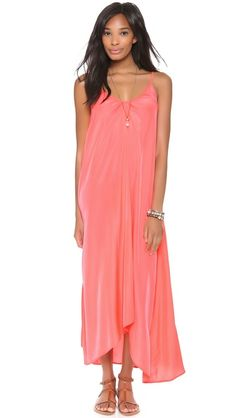 The perfect vacation maxi dress.. comes in a bunch of colors and is only $84!