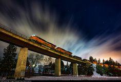 RailPictures.Net Photo: BNSF 5913 BNSF Railway GE ES44AC at Spokane, United States by Kaput Gerat Lupinum