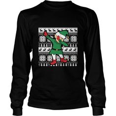 Dabbing Santa's Elf Ugly Christmas Sweater T-Shirt #gift #ideas #Popular #Everything #Videos #Shop #Animals #pets #Architecture #Art #Cars #motorcycles #Celebrities #DIY #crafts #Design #Education #Entertainment #Food #drink #Gardening #Geek #Hair #beauty #Health #fitness #History #Holidays #events #Home decor #Humor #Illustrations #posters #Kids #parenting #Men #Outdoors #Photography #Products #Quotes #Science #nature #Sports #Tattoos #Technology #Travel #Weddings #Women