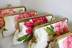 Bridesmaid clutches Bridesmaid Clutches, Wedding Bridesmaids, Hampton Roads, Dress For You, Peony, Party Time, Favors, Parties, Wedding Ideas