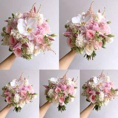 soft pink❤  www.facebook.com/LemongrassWedding  #flower #bride #bouquet #lemongrasswedding #bridebouquet #freshflowers #wedding #florist #corsage #weddings #bridesmaids #silkflowers