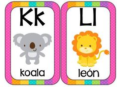 Abecedario Animales formato tarjetas (6)