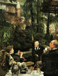 James Tissot - Rivals by irinaraquel