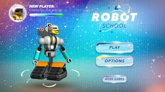 Robot School. Programming For Kids by Next is Great
