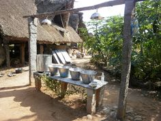 dishwashing station - galvanized tubs Galvanized Tub, Camping Hacks, Pergola, Outdoor Structures, Tubs, Party, Wedding, Bathtubs, Valentines Day Weddings