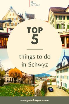 Looking for Switzerland travel ideas and want to explore charming Swiss villages? Well, check out top things to do in Schwyz, Switzerland and deeply learn about the local culture and traditions. European Destination, European Travel, Travel Ideas, Travel Tips, Days In November, Stuff To Do, Things To Do, Hiking Places, Visit Switzerland