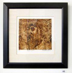 48  |  Title: Body6 (groin)  |  Artist: Michael Mills  |  Media: Mono Print  |  Size: 6 x 6.5 in