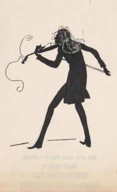 Nicoló Paganini--charming caricature