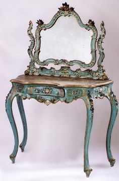 For The Love of Decor and Interior Design, kary1954: Rococo,painted and gilded! ….