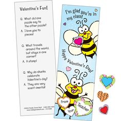Adorable Scratch-And-Sniff Valentine Bookmarks