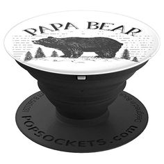 Papa Bear PopSockets Grip - Cute Bear Gift Ideas For Dad - PopSockets Grip and Stand for Phones and Tablets Stocking Stuffers For Mom, Christmas Stocking Stuffers, Sister Gifts, Gifts For Dad, Gifts For Friends, I Miss My Dad, Diy Pop Socket, Pop Sockets Iphone, Cute Bears