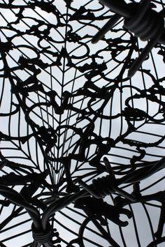 Metal Sculpture - Botanic Gardens Sydney Australia