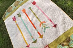 Moda Lissa: Straight and Arrow (pattern in Quilts and More Spring 2014)