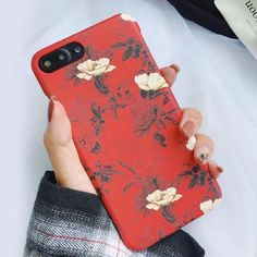 Spring Retro Flowers iPhone Case #iphonecase #iphonexcase #iphone8pluscase #iphone8case #iphone7pluscase #iphone7case #girl #gift #samsungcase #love #makeup #cute #shopping #shop #buy Iphone 7, Diy Iphone Case, White Iphone, Iphone Phone Cases, Phone Covers, Iphone 8 Plus, Apple Iphone, 5sos, Gadgets