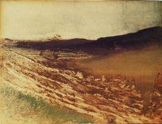 Edgar Degas - Burgundy landscape