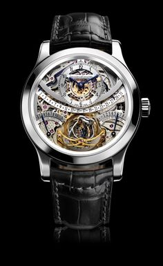 Men's Jaeger-LeCoultre Gyrotourbillon - Precision time keeping