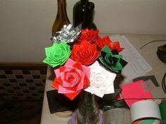 DIY Duct Tape Roses