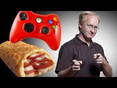 Let's promote laziness! >XBox Controller-Mounted Hot Pocket Dispenser
