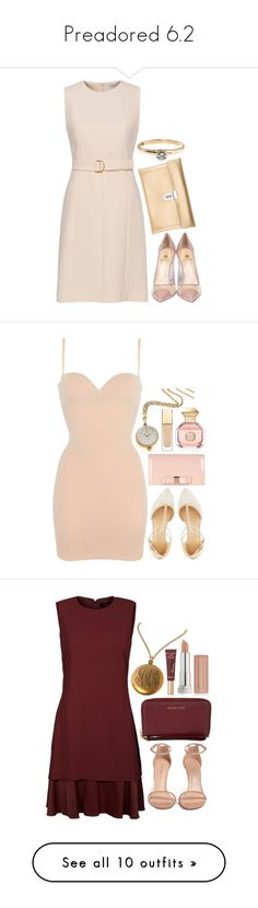"""""""Preadored 6.2"""" by emilypondng ❤ liked on Polyvore featuring PreAdored, Semilla, Golden Goose, Charlotte Russe, Wolford, Bucherer, Accessorize, Tory Burch, Clarins and Theory"""