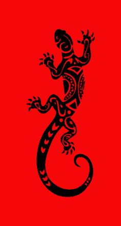 Serviette jacquard salamandre noire