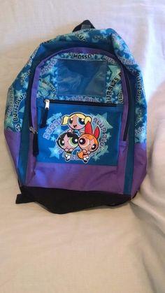 02b69b0d32e2 Cartoon Network 2001 Powerpuff Girls Heavy Duty Backpack Mattel   CartoonNetwork