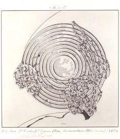 """""""Lebbeus Woods - Architect"""" Returns to NYC,Concentric Field. Image Courtesy of Estate of Lebbeus Woods Lebbeus Woods, Wood Architecture, Architecture Drawings, Classical Architecture, Organic Architecture, Futuristic Architecture, Steven Holl, John Pawson, Rem Koolhaas"""