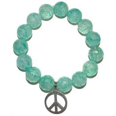 Pretty Peace Charm Bracelet | Faunadea - Jewelry And Accessories