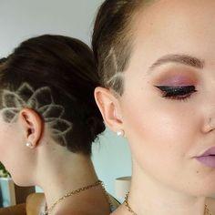 TATOUAGES CAPILLAIRES : Avez-vous vu la dernière tendance des coiffures avec des tatouages capillaires qui balaie Instagram et Pinterest?