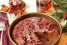 Maple Cranberry Gingerbread - Runamok Maple
