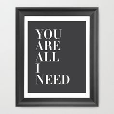 Please contact me if youd like another color! I would be happy to use another color for no extra charge. *-*-*-*-*-*-*-*-* (Frame and mat not Love Quotes For Wedding, Love Me Quotes, Song Quotes, Radiohead Lyrics, Music Lyrics, Thom Yorke, More Than Love, Lyric Art, Sing To Me