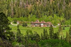 AUCTION! c.1897. Redstone Castle Ln, Redstone, CO Thanks to Sue for sending this one in! 23,357 square feet. 24 bedrooms, 19 baths on 153.97 acres. Turn-of-the-century industrialist John Cleveland Osgood constructed ''Cleveholm Manor,'' the opulent 42-room Tudor-style mansion now commonly referred to as ''the Redstone Castle.'' Completed in 1902, the estate included servants' quarters, a gamekeeper's lodge, a carriage house, and a greenhouse. The lush, spectacular property is surrounded by…