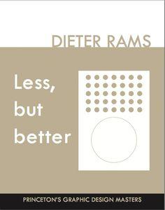 Cover: Dieter Rams - Draft 1