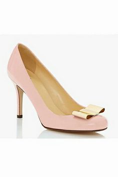 With that relatively low heel and sweet bow, how could you not want to live in these? - Kate Spade Karolina Bow Heel