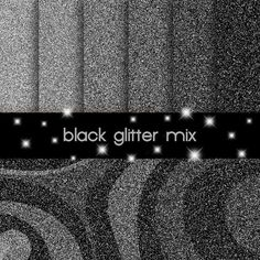 black glitter digital paper, web background
