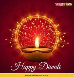 May This Diwali fulfill all your dreams & bring happiness to your life forever!! Wishing you a #HappyDiwali.  #ImagineMath